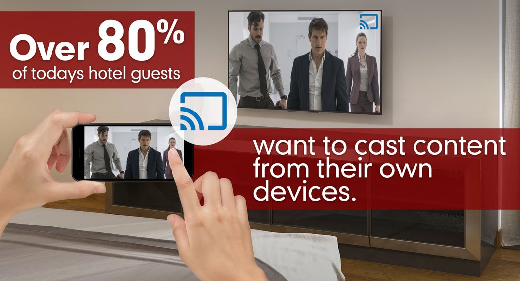 GuestCast™ | Hotel TV Casting Solution | BeyondTV Streaming