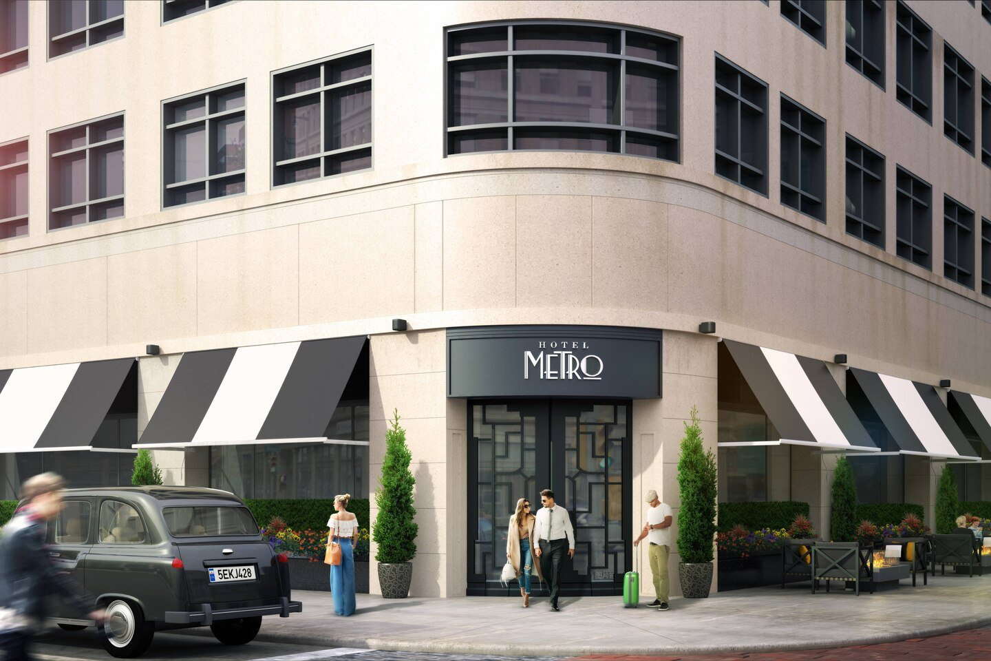 Hotel Metro Milwaukee – Installation Spotlight